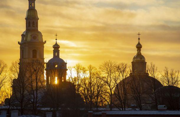 Петербург иЛенобласть ожидает резкое потепление