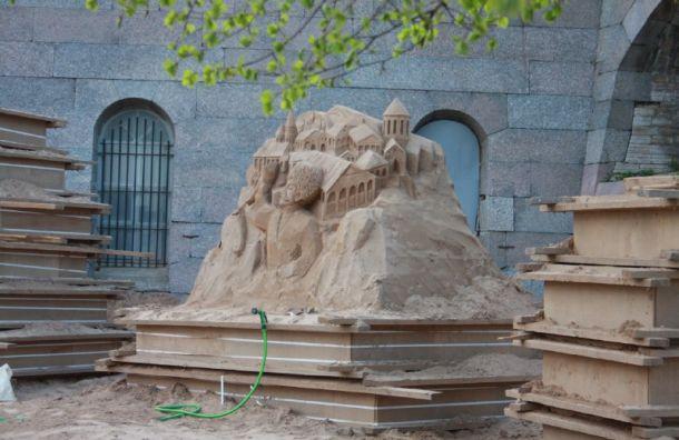 22 мая в Петербурге стартует фестиваль песчаных фигур