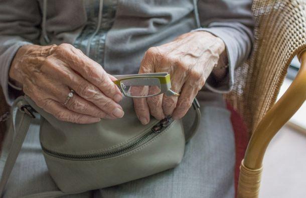 ВПетербурге грабитель отобрал кошелек убывшей узницы концлагеря