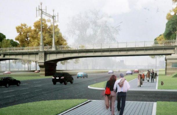 Реконструкцию путепровода наПулковском шоссе закончат вследующем году