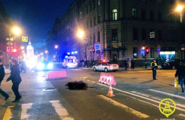 Пешеход погиб наместе ДТП наулице Пестеля
