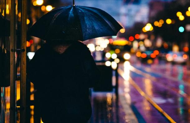 Вчетверг вПетербурге ожидается дождливая иветреная погода
