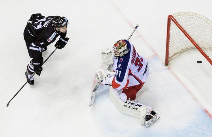 СКА подписал контракт сошведским вратарем Ларсом Юханссоном