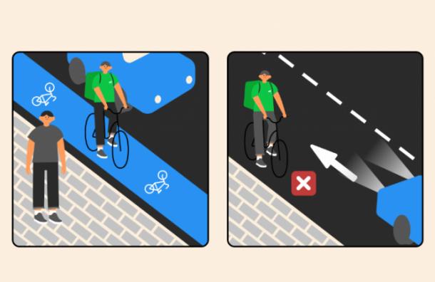 Для велокурьеров создали специальную программу обучения ПДД