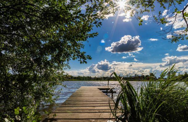 Петербург ждёт летняя жара: воздух прогреется до +25 градусов