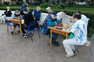 Шахматные турниры возвращаются всады искверы Петербурга