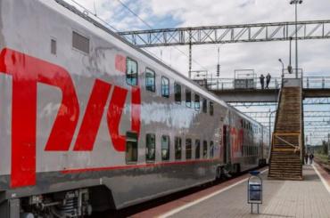 Между Петербургом иАнапой будут ходить двухэтажные поезда