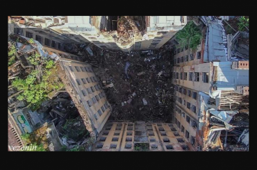 «Чудовищно»: фотограф показал снимок дома Басевича сдрона