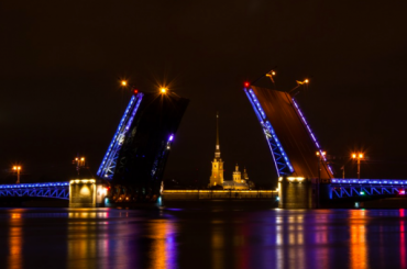 ВПетербурге пройдет очередная акция «Поющие мосты»