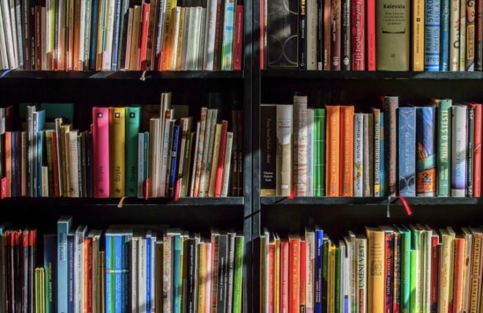 Вбиблиотеке им.Маяковского книги выдают дооктября