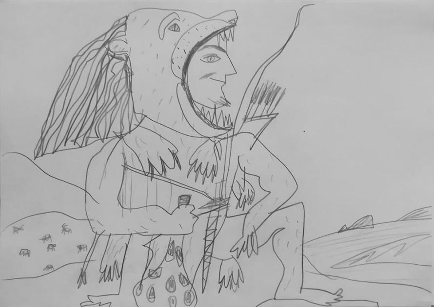 Геракл в шкуре коринфского льва.jpeg