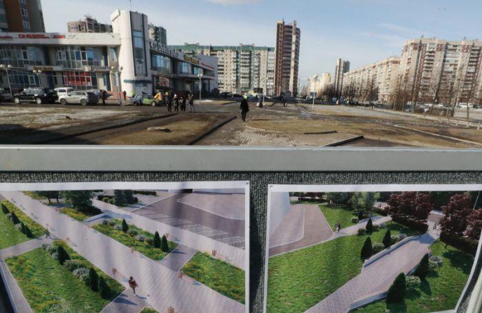 Вквартале устанции метро «Проспект Большевиков» изменят благоустройство