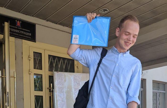 Студент Санкт-Петербургской юридической академии объявил голодовку