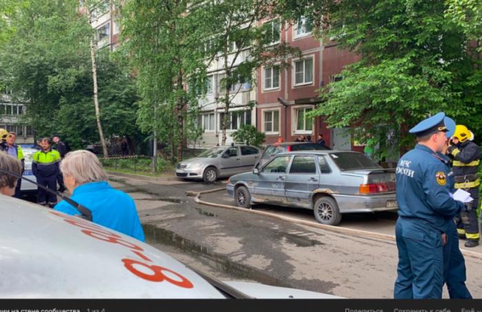 Взрыв газа прогремел вквартире наЭнтузиастов: 40 человек эвакуировали