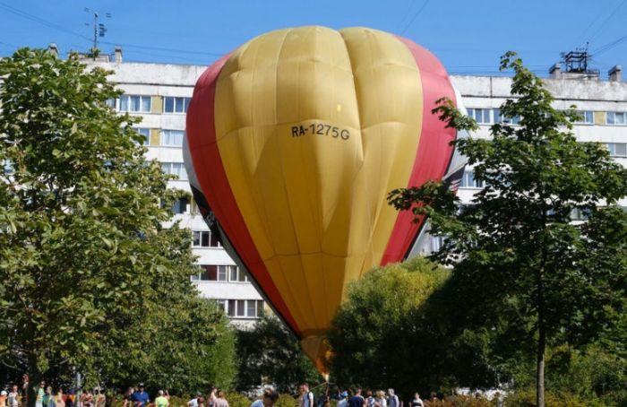 Петербуржцев зовут нафестиваль воздухоплавания