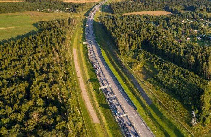 Скоростной режим натрассе М-11 повысили наодном участке до130 км/ч