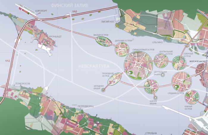 Площадь Петербурга официально выросла на135 гектаров