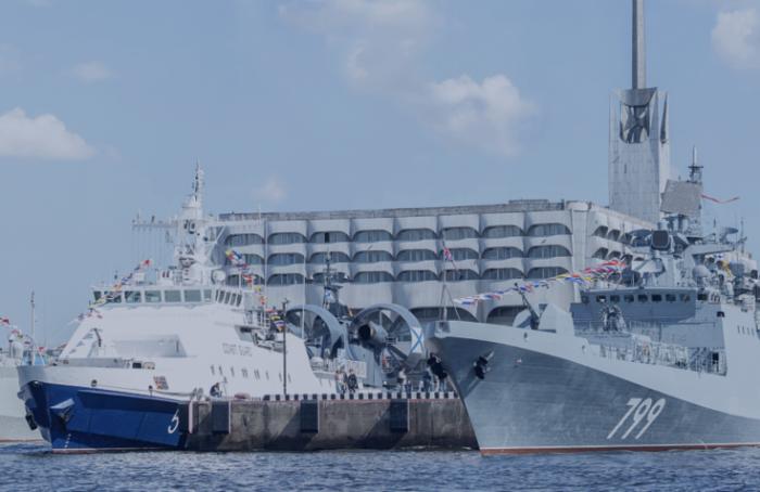 Горожане несмогут попасть наборт кораблей— участников военно-морского салона