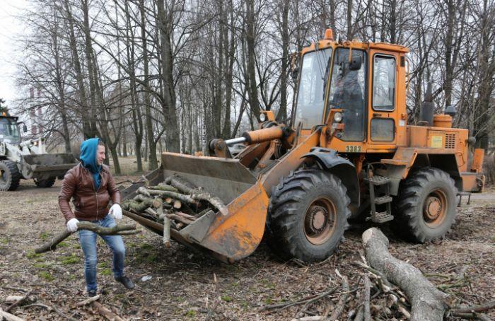 Депутаты просят Смольный очистить иблагоустроить парк Авиаторов