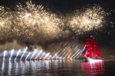 Фоторепортаж: как прошёл праздник «Алые паруса»