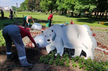 Александровский сад готовят кФестивалю цветов