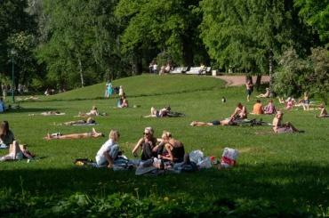 Неделя с14июня вПетербурге будет тёплой иясной