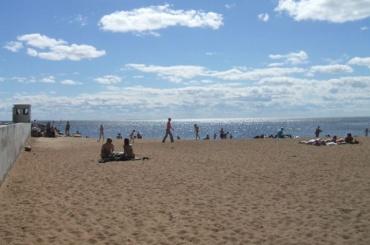 ВКурортном районе благоустроят Золотой пляж