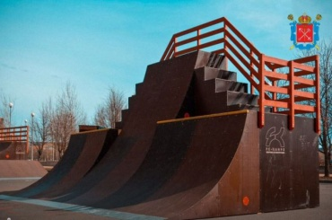 Старейшую вПетербурге скейт-площадку приведут впорядок