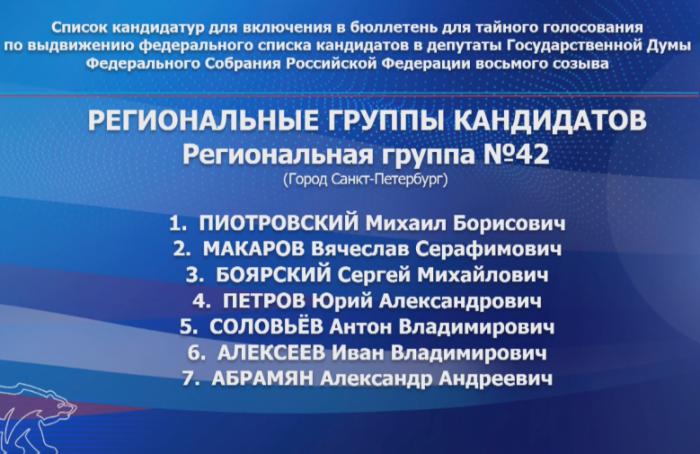 Пиотровский— первый, Макаров— второй