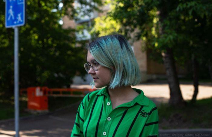 Полиция пришла собыском вобщежитие СПбГУ, где живет журналистка Ника Самусик