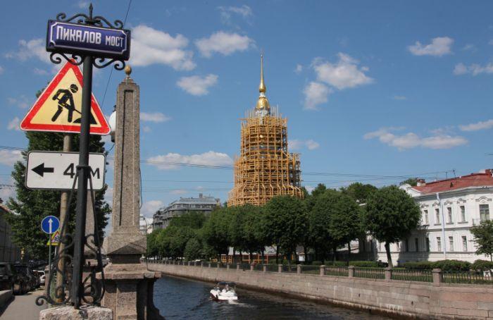 ВПетербурге за114 млн отреставрируют колокольню Николо-Богоявленского морского собора