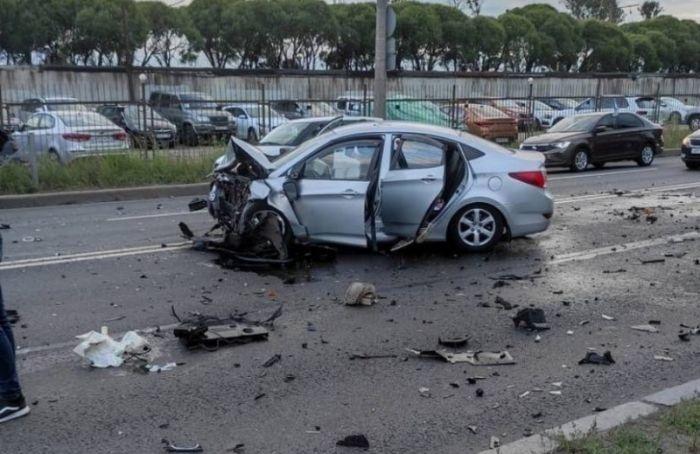 Возбуждено уголовное дело после аварии напроспекте Народного Ополчения