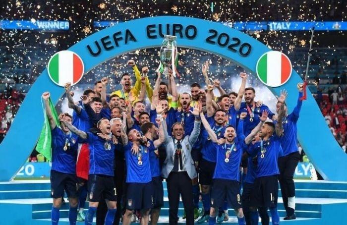 Сборная Италии победила Англию наЕвро-2020