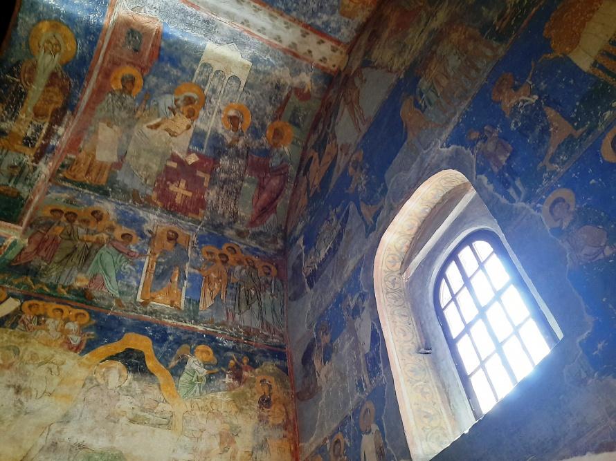 Мирожский монастырь росписи Спасо-Преображенской церкви.jpg