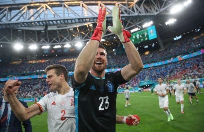 Петербург попрощался сЕвро-2020: Испания попенальти обыграла Швейцарию