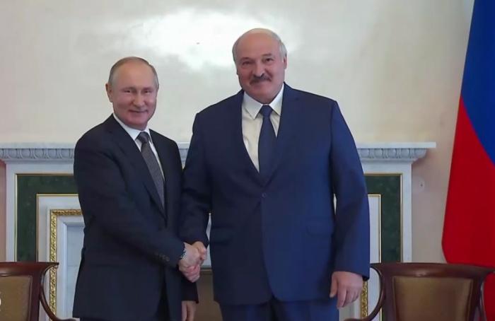Переговоры Путина иЛукашенко длились больше пяти часов