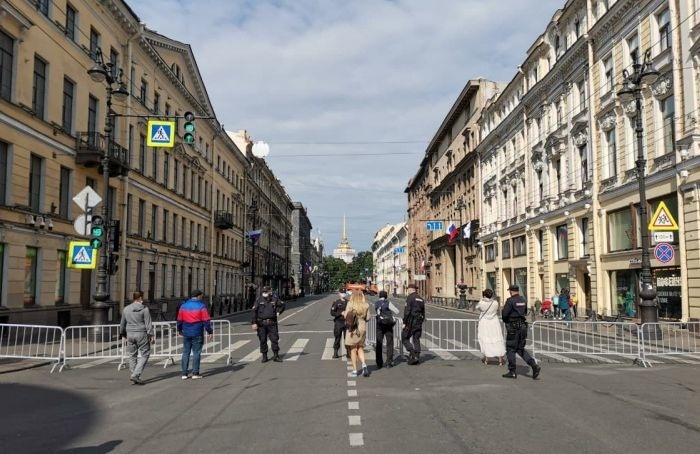 Петербург вДень ВМФ готовится квоенно-морскому параду