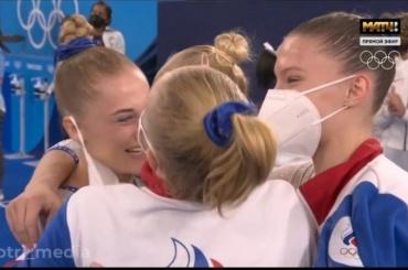 Российские гимнастки впервые вистории победили вкомандном многоборье наОлимпиаде