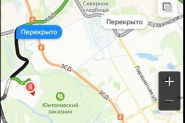 ЖителиЖК «Юнтолово» оказались отрезаны отКАД иЗСД