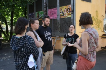 Защитники дома Басевича провели народный сход