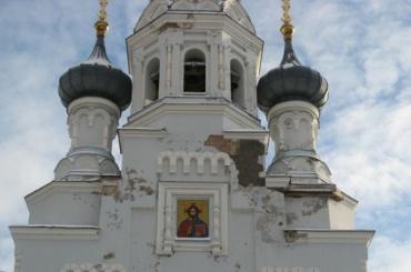 ВКронштадте начали реставрировать Владимирский собор