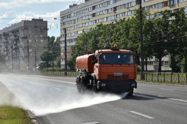 Полив воздуха— новый способ влажной уборки города