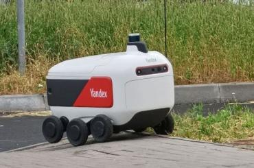 ВМурине заметили роботов-доставщиков