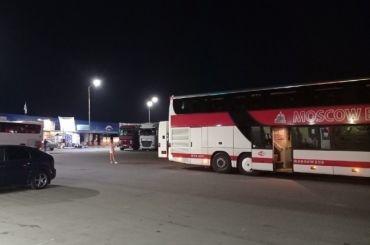 Туристы изПетербурга вновь застряли подороге вКрым