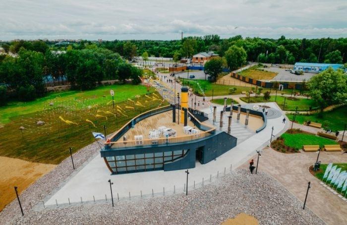 ВКронштадте открыли историческую площадку «Отпарохода доатомохода»