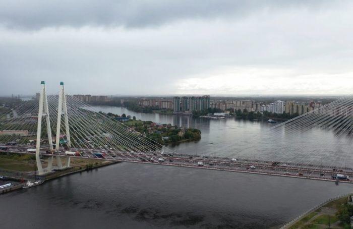 НаБольшом Обуховском мосту перекроют две полосы движения поКАД