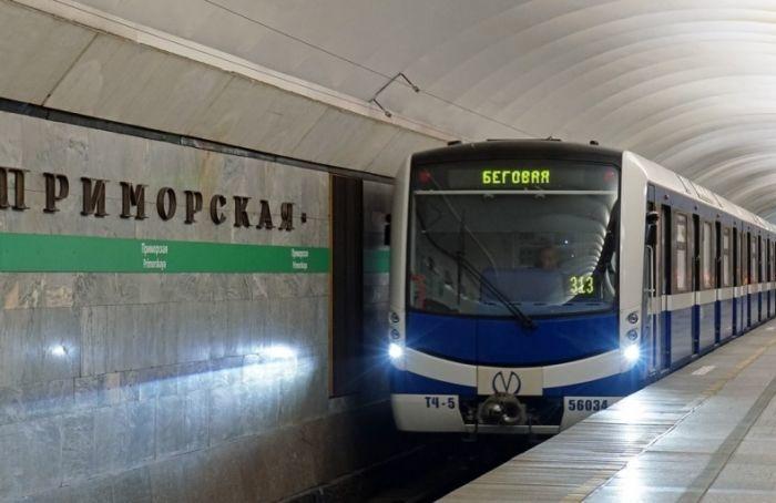 Метро Петербурга проверили наготовность квозможным подтоплениям