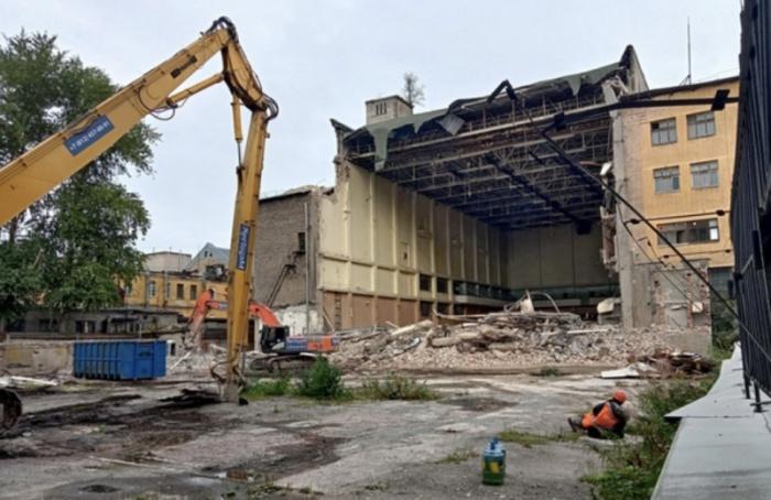 Начался демонтаж здания НИИпостоянного тока