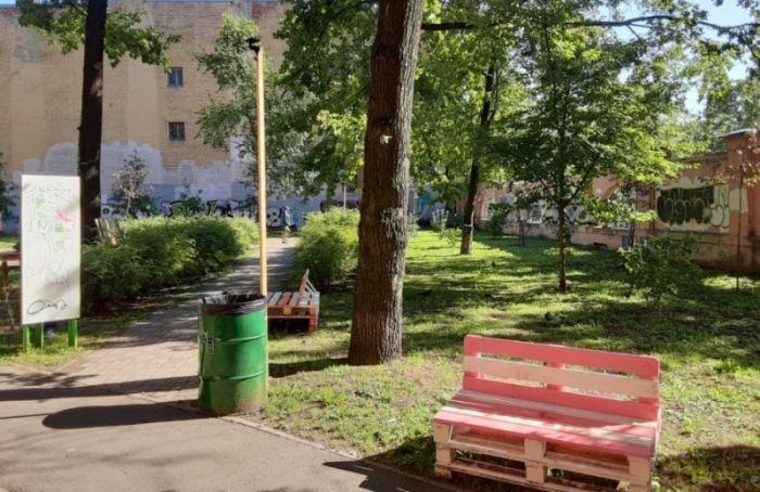 Жители Васильевского острова выбирают название для безымянного сквера