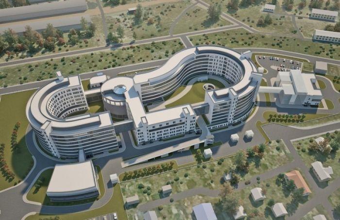 Объявлен третий этап строительства нейрохирургического комплекса вПетербурге